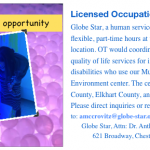Job Opportunity for Occupational Therapist