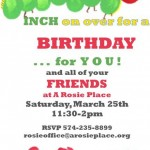 A Community Birthday Party at A Rosie Place on March 25