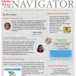The NAVIGATOR Newsletter, sharing the journey of Gentle Teaching at Globe Star