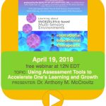 APR 19 MSE WEBINAR: Using Assessment Tools to Accelerate Learning